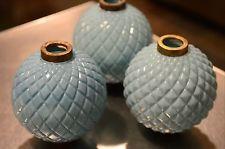 2 Antique Vintage White & Blue Milk Glass Lightning Balls & Rod Marked D&S Lightning Rod, Lightning Strikes, Weather Vanes, Antique Bottles, Old World Charm, Windmills, Color Stories, Glass Ball, Milk Glass