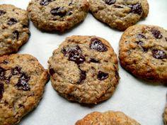 Flourless Almond Butter Chocolate Chunk Cookies