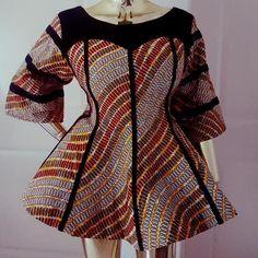 Short African Dresses, African Lace Styles, Latest African Fashion Dresses, African Print Dresses, African Print Fashion, African Print Dress Designs, Ankara Dress Styles, African Attire, Peplum
