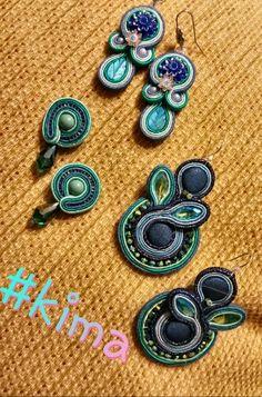 Soutsche earrings by KIMA