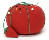 All the pin cushions growing up looked like this.  My Grandmother had one till the day she passed away.