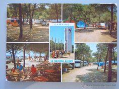 POSTAL DE BARCELONA. AÑO 1971. CASTELLDEFELS, CAMPING LA BALLENA ALEGRE. 1323 - Foto 1