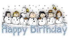 Happy Birthday - The Peanuts Gang