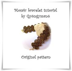 Bracelet Tutorial  Beaded Jewellery Instruction  by GymsJewelry, €9.00