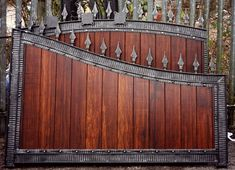 North Valley Forge can create fence panels to match the gate design. They also ship to the US!