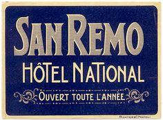 Hotel National San Remo Italy Riviera Ligure #essenzadiriviera - www.varaldocosmetica.it