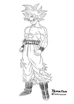 Goku Super Saiyan 4 | sketch ideas | Pinterest | Goku ...