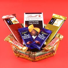 Get a # Variety of Chocolates from indiaflowerplaza.