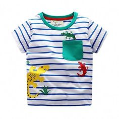 a4c8224b16b Jumping meters Boys T shirts cotton summer children clothing applique  animals hot selling kids tees tops knitted t shirt boy. Kids Fashion