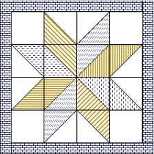 Resultado de imagen para star quilt pattern