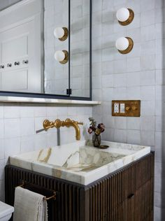 Nob Hill Classic | Studio Gray - Boutique Interior Design Green Marble Bathroom, Small Bathroom, Bathrooms, Bathroom Ideas, Master Bathroom, Downstairs Bathroom, Bathroom Inspo, Budget Bathroom, Boutique Interior Design