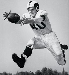 "Elroy ""Crazy Legs"" Hirsch, WR \ RB ~ Los Angeles Rams (1949-56)"
