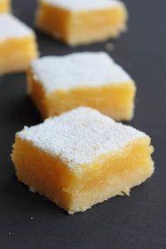 Cuadraditos de limón - Lemon bars