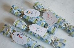 DIY Christmas Crackers and Tags free printables