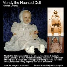 Mandy the haunted doll - Google Search