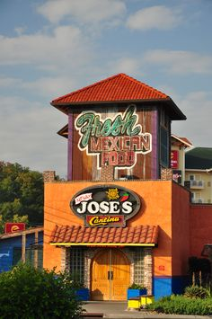 No Way Jose's Cantina in Pigeon Forge - Fresh Mexican Food!