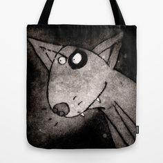 Dog Tote Bag by Lucy Gell - $22.00