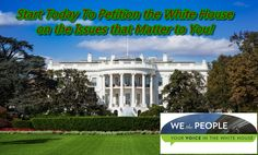 How to Create The White House Petition Account on Petitions.whitehouse.gov
