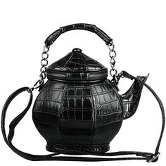 I love this SO MUCH! I own it and I can recommend it hightly. Teapot Shaped Crossbody Purse