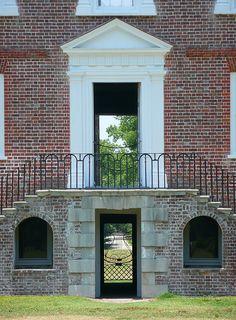 Drayton Hall, SC front entrance