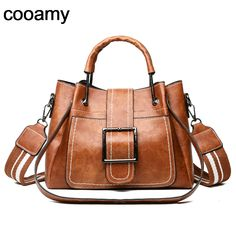 Women Shoulder Messenger Bags Leather Handbags Large Women Bag High Quality Casual Bags Women Trunk Tote Clear-Cut Texture Back To Search Resultsluggage & Bags
