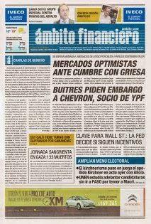 OpinionPublicaSantafesina(ops): diarios de argentina 21 de julio