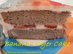 Tormented Kitchen: Banana Layer Cake recipe Banana Layer Cake Recipe, Very Hungry, What's Cooking, What To Cook, Hot Dog Buns, Cake Recipes, Sandwiches, Easy Meals, Layers