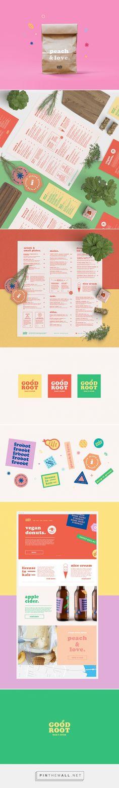 Good Root Restaurant Branding, Menu & Website Design by Lucas Jubb | Grits + Grids - created via https://pinthemall.net