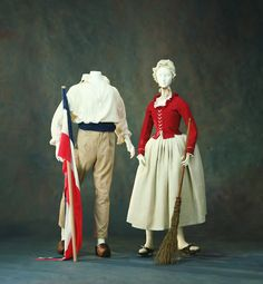 Revolutionary ensembles, 1789-1794 via The Kyoto Costume Institute
