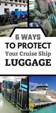 When traveling on a cruise vacation you need to make sure your luggage is safe and secure, here are travel tips for just that.