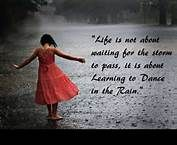 life is not about waiting for the storm to pass tattoo - Bing Images
