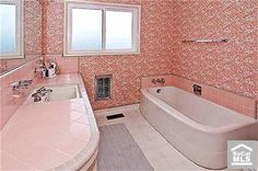 TIME CAPSULE 1950s bathroom from Fullerton, CA.