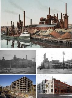 Abandoned Factories and Car Plants, Detroit, MI