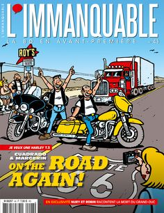 L'Immanquable - N° 43 - Août 2014 - Couverture : Frank Margerin