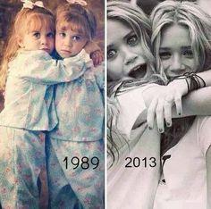 The Olsen twins! Mary-Kate and Ashleigh Olsen Sister, Olsen Twins, Mary Kate Ashley, Mary Kate Olsen, Twin Photos, Ashley Olsen, Lily Collins, Twin Sisters, Full House