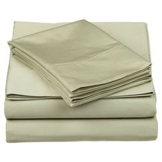 Add a luxe touch to your bed with this Egyptian cotton sheet set. Featuring a sateen finish and 530 thread count design, this classic essential brims with so...
