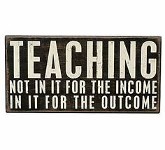 Valetine's Day Gift Idea for Teachers // Primitives by Kathy Medium Box Signs