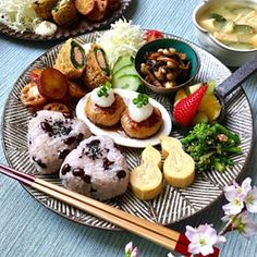 Breakfast For Dinner, Breakfast Dishes, Plate Lunch, Japanese Food, Japanese Meals, Food Decoration, Aesthetic Food, Desert Recipes, Food Presentation