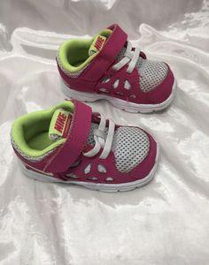 33e1c5dc3f50 NIKE Fusion Run 2 Pink Athletic Sneakers Toddler Girls Shoe Size 5c   fashion  clothing