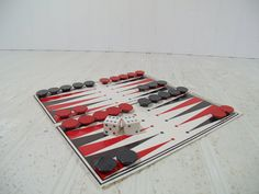 Vintage Remotrol Magnetic Backgammon & Acey Ducey by DivineOrders #etsy