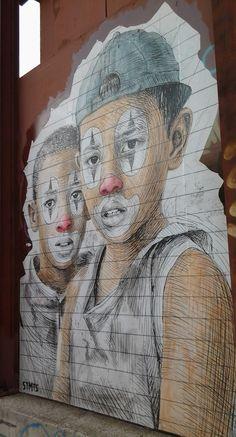 Athens street art.  Artist Stmts