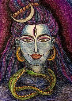 #MariVeselaya #Shiva #Mahadev #OmNamahShivaya #Art #Crayon