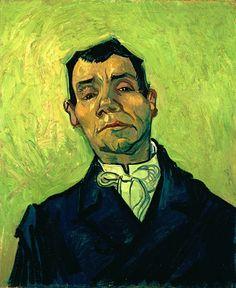 フィンセント・ファン・ゴッホ ある男の肖像 1888年