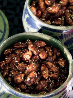 Honey-Spiced Almonds