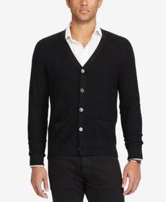 POLO RALPH LAUREN Polo Ralph Lauren Men'S V-Neck Cardigan. #poloralphlauren #cloth # sweaters