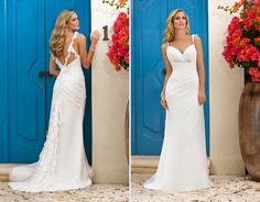 Informal Wedding Dresses | Beautiful Casual Wedding Dresses | Glam Bistro