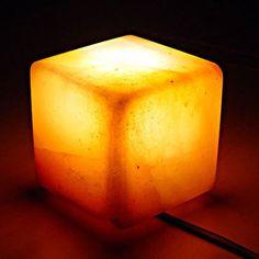 Natural Crystal Cube Salt Lamp