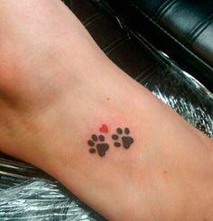 Dog Portrait Tattoo Small _ Dog Portrait Tattoo – foot tattoos for women flowers Small Dog Tattoos, Mini Tattoos, Trendy Tattoos, Body Art Tattoos, Tattoos For Guys, Tattoos For Women, Tattoo Small, Tatoos, Dog Paw Tattoos