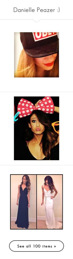 """""""Danielle Peazer :)"""" by b-jay ❤ liked on Polyvore featuring danielle peazer, danielle, hair, one direction, people, pictures, photos, 1d, celebs and dani peazer"""