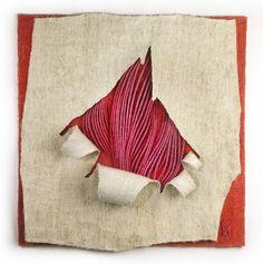 Kubinyi Anna---Eleven Textil ---1999  ---Művész tulajdona---Living Textile.